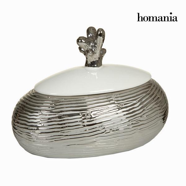Scatola con tappo bianco argento by Homania