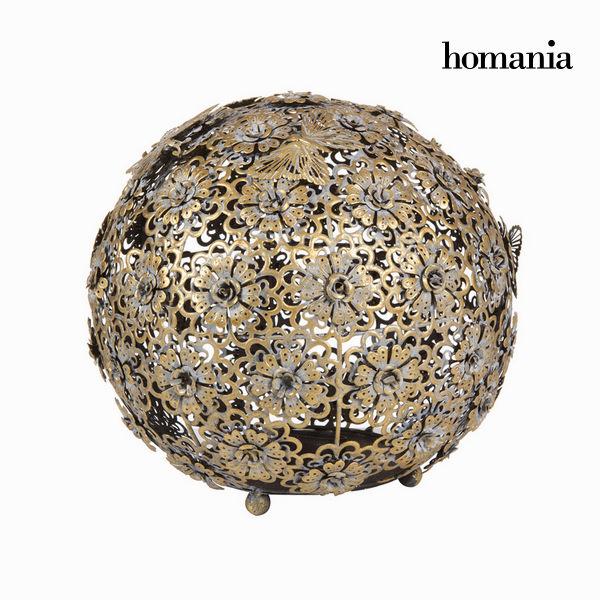 Bola Flor Y Mariposa Oro Envej - Colección Art & Metal By Homania -  - ebay.es