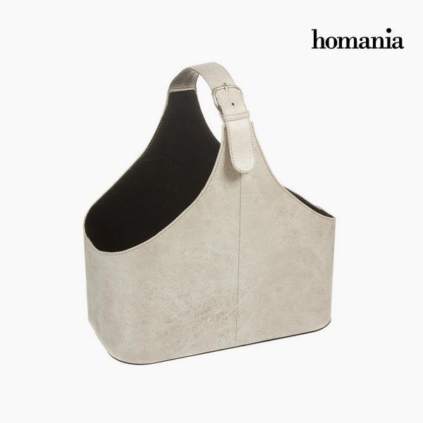 Revistero correa color beige by Homania