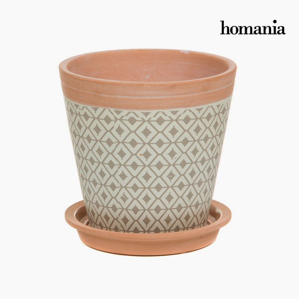 Keramična stojala za rože v obliki romba by Homania