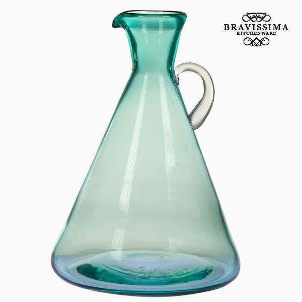 Jarra Con Asa Cristal Verde By Bravissima Kitchen -  - ebay.es