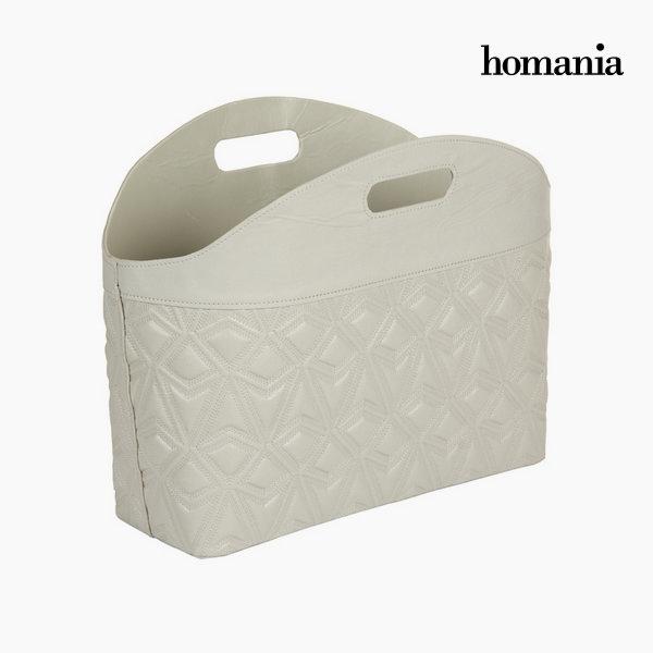 Revistero con grabado gris by Homania