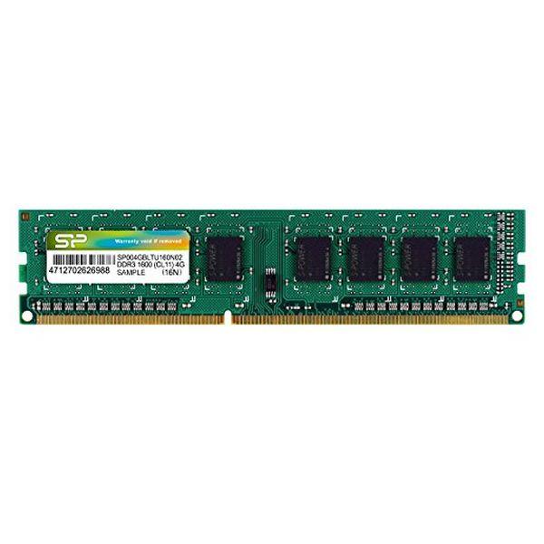 Spomin RAM Silicon Power SP004GBLTU160N02 DDR3 240-pin DIMM 4 GB 1600 Mhz