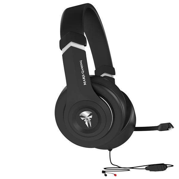 Slušalke in Mikrofon Tacens MHHA1 MHHA1 40 mm Črna