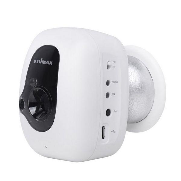 IP Kamera Edimax IC-3210WK (H/V/D): 46,1° / 34,6° / 57,6° IR LED x 2 Laptop Éjjellátó