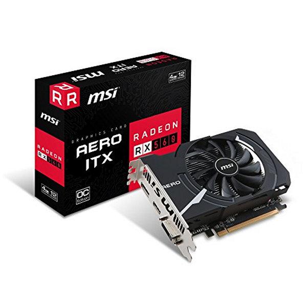 BB S0209298 Tarjeta Gráfica MSI VGA AMD RX 560 AERO- ITX 4G OC 4 GB DDR5
