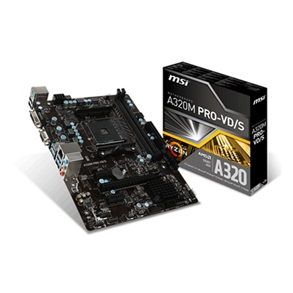 Placa Base MSI 911-7A36-004 A320M PRO-VD/S PC 32 GB  