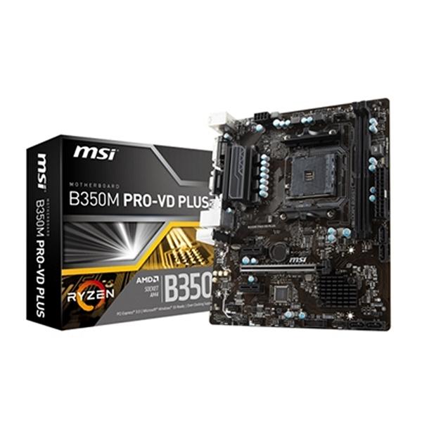 Placa Base MSI 911-7B38-004 B350M PRO-VD PLUS PC 32 GB  