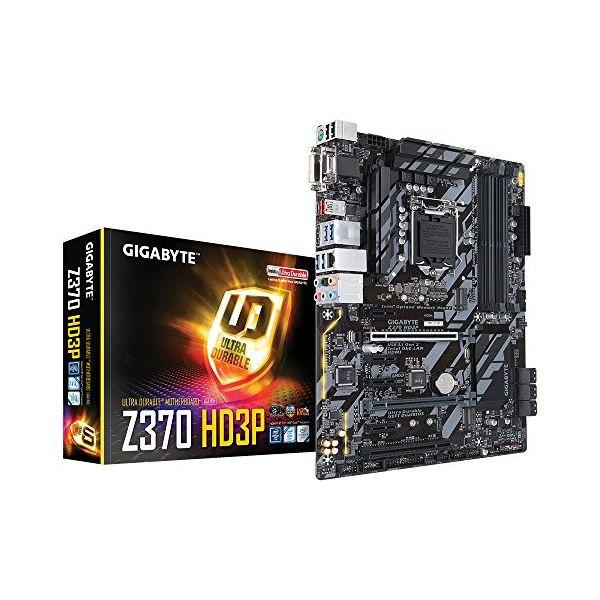Placa Base Gaming Gigabyte Z370 HD3P GA-Z370 HD3P DDR4-SDRAM DIMM 2133,4000 MHz