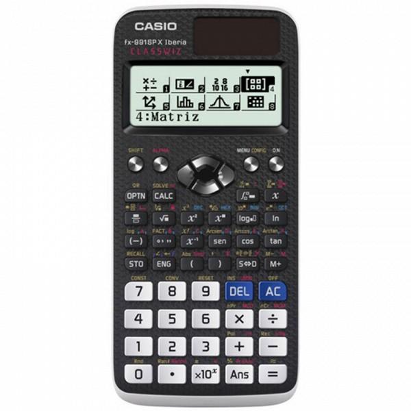Számológép Casio 222685 LCD Fekete Műanyag