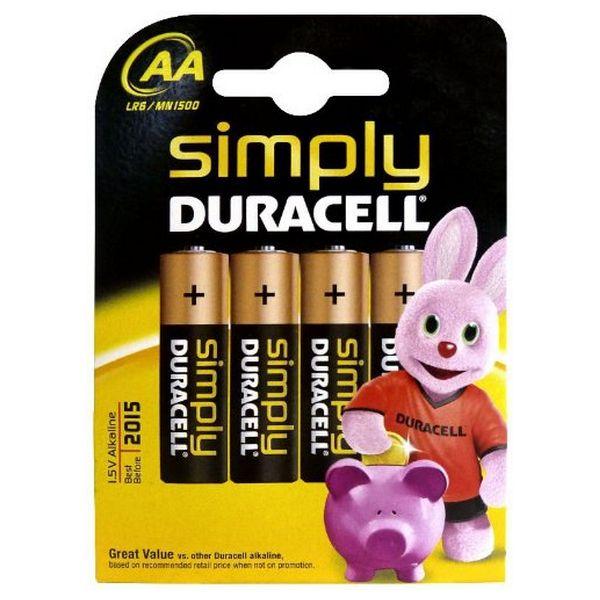 Pilas-Alcalinas-DURACELL-Simply-DURSIMLR6P4B-LR6-AA-1-5V-4-pcs