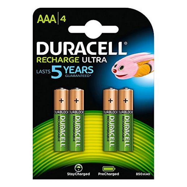 Pilas-Recargables-DURACELL-DURDLLR03P4B-HR03-AAA-800-mAh-4-pcs