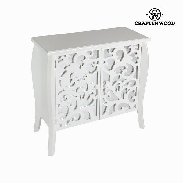 Beli konzolni kos pohištva - Radiance Zbirka by Craften Wood