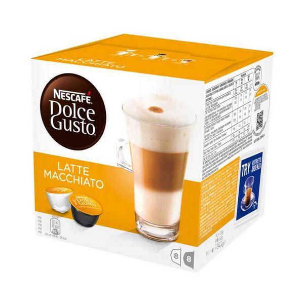 Capsule di Caffè con Contenitore Nescafé Dolce Gusto 98386 Latte Macchiato (16 uds)