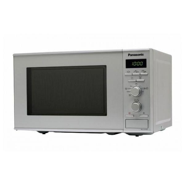 Mikrohullámú Sütő Grillsütővel Panasonic NNJ161MMEPG 20 L 800W Rozsdamentes acél