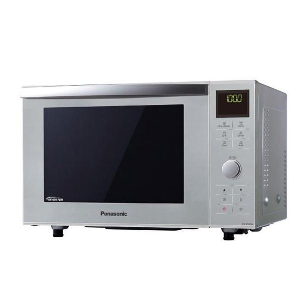 Mikrohullámú Sütő Grillsütővel Panasonic NNDF385MEPG 23 L 1000W Fehér