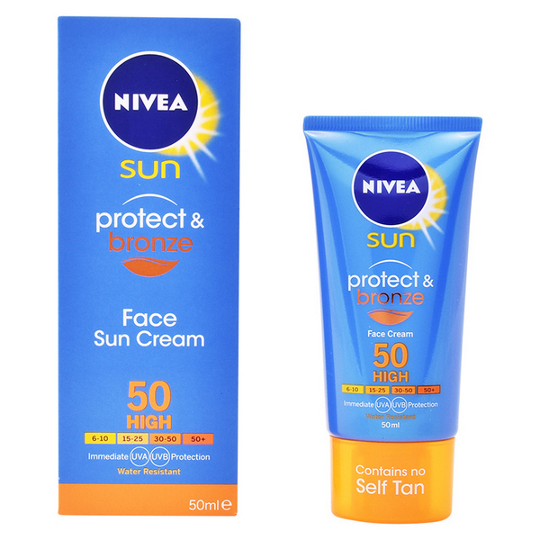 Naptej Arcra Protect & Bronze Nivea SPF 50 (50 ml)