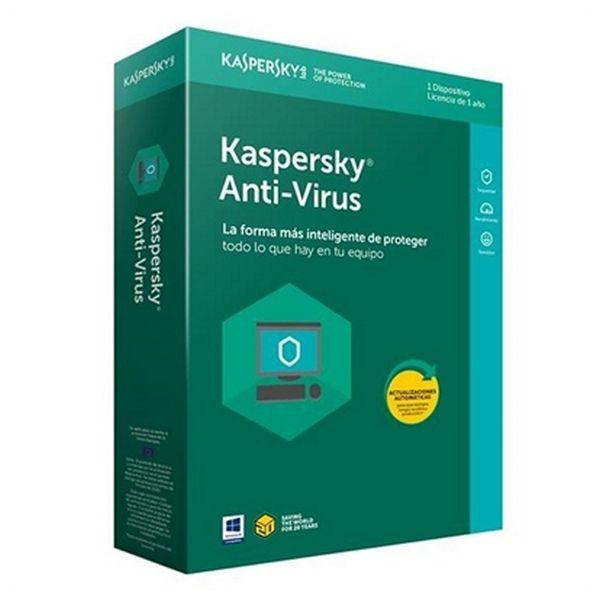 Antivirus Hogar Kaspersky Anti-Virus 2018 KL1171S5AFS-8 1L/1A |