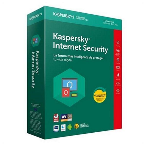 Antivirus Hogar Kaspersky Internet Security 2018 KL1941S5AFS-8 1L/1A Multi-Device |