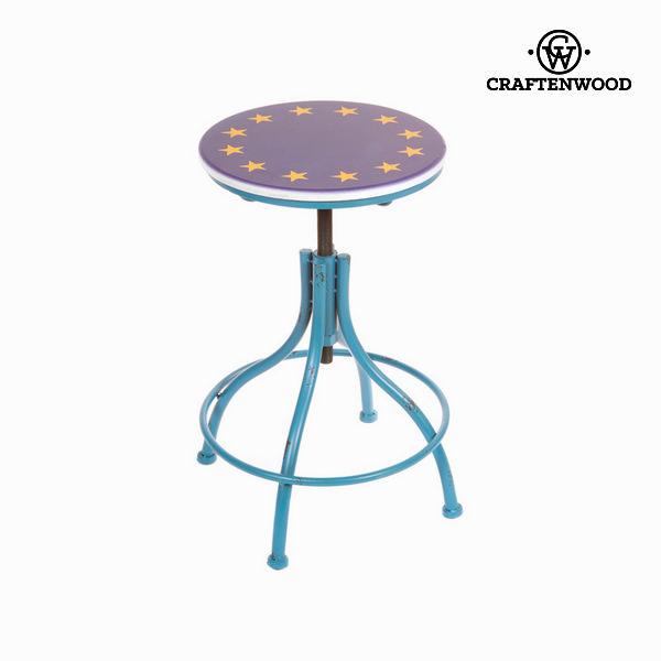 Fém kék szék by Craftenwood
