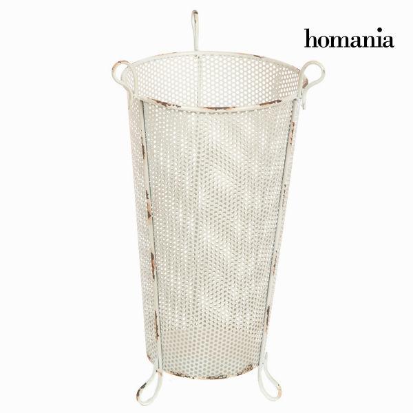 Paraguero metálico blanco by Homania