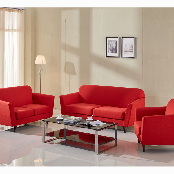 Sofá 2 plazas abbey rojo - Colección Love Sixty by Craftenwood (2)