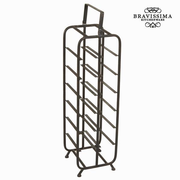 Porta bottiglie grande nero by Bravissima Kitchen 7569000730148  02_S0102779