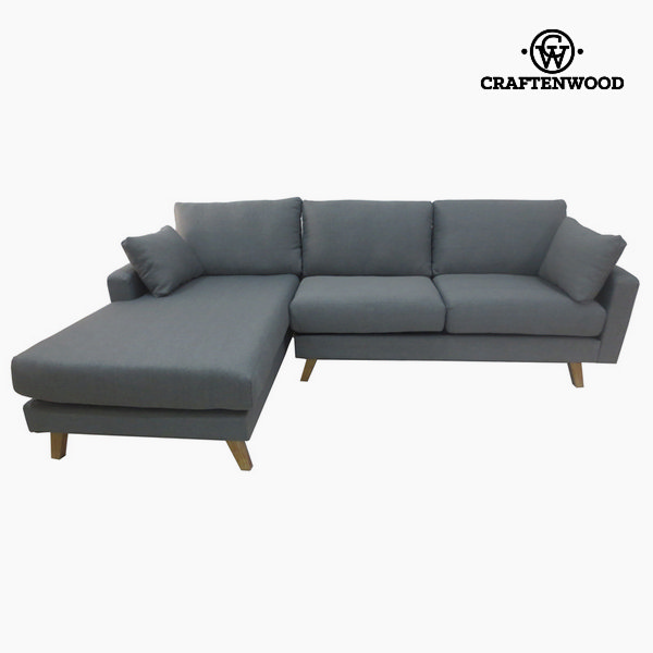 Chaise lounge milos gris by Craftenwood