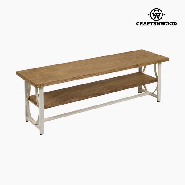 TV asztal Fa / kovácsolt vas Bézs szín - Serious Line Gyűjtemény by Craftenwood
