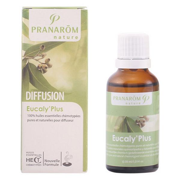 Illat légfrissítőhöz Diffusion Eucaly Plus Pranarôm 30 ml