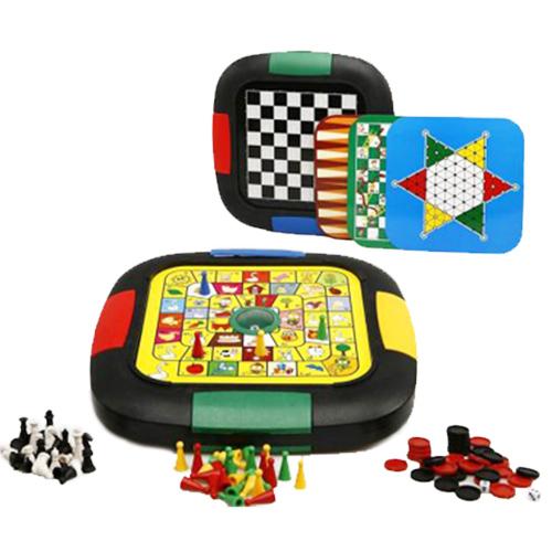 Juegos de Mesa 6 en 1   Best 6 in 1 Chess Game H4505118