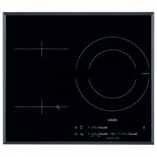 Indukciós Főzőlap Aeg HKL65311FB 56 cm Fekete (3 főzőfelületek)