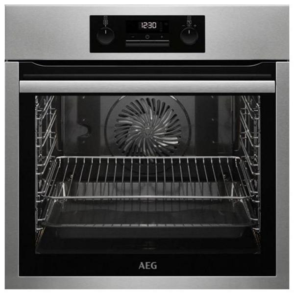 Pirolitikus sütő Aeg BPS331120M 74 L LCD 3000W Rozsdamentes acél Fekete