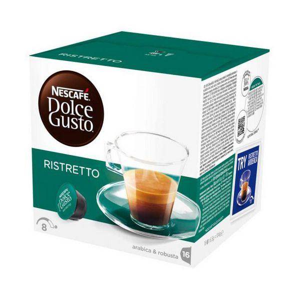 Capsule di Caffè con Contenitore Nescafé Dolce Gusto 41640 Espresso Ristretto (48 uds)