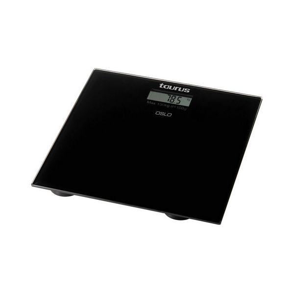 Digitális Fürdőszoba Mérleg Taurus 28332 Fekete