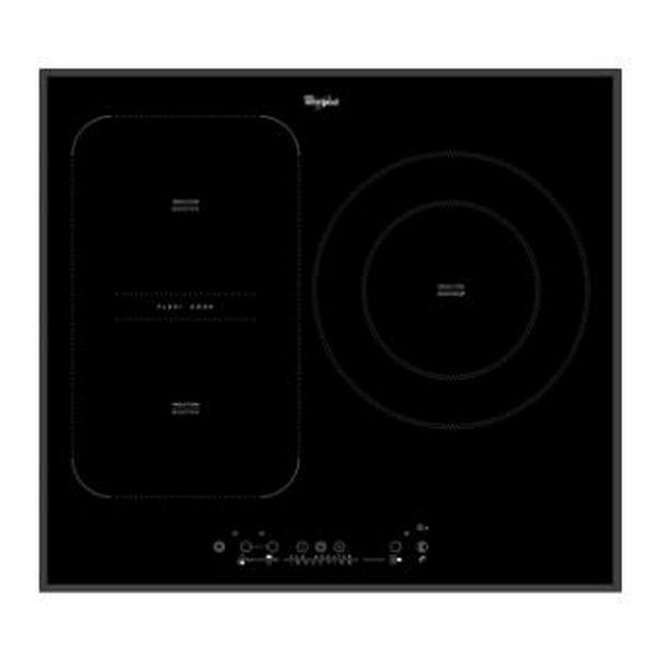 Indukciós Főzőlap Whirlpool Corporation ACM875BA 58 cm Touch Control Fekete (3 főzőfelületek)