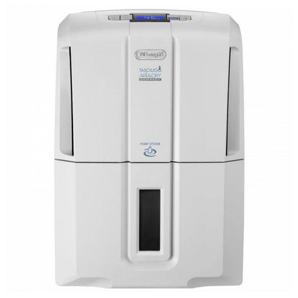 Deumidificatore De'Longhi Tasciugo AraDry Compact DDS 20P 20 L / 24 h 4,5 L Bianco 8004399480964  02_S0403337
