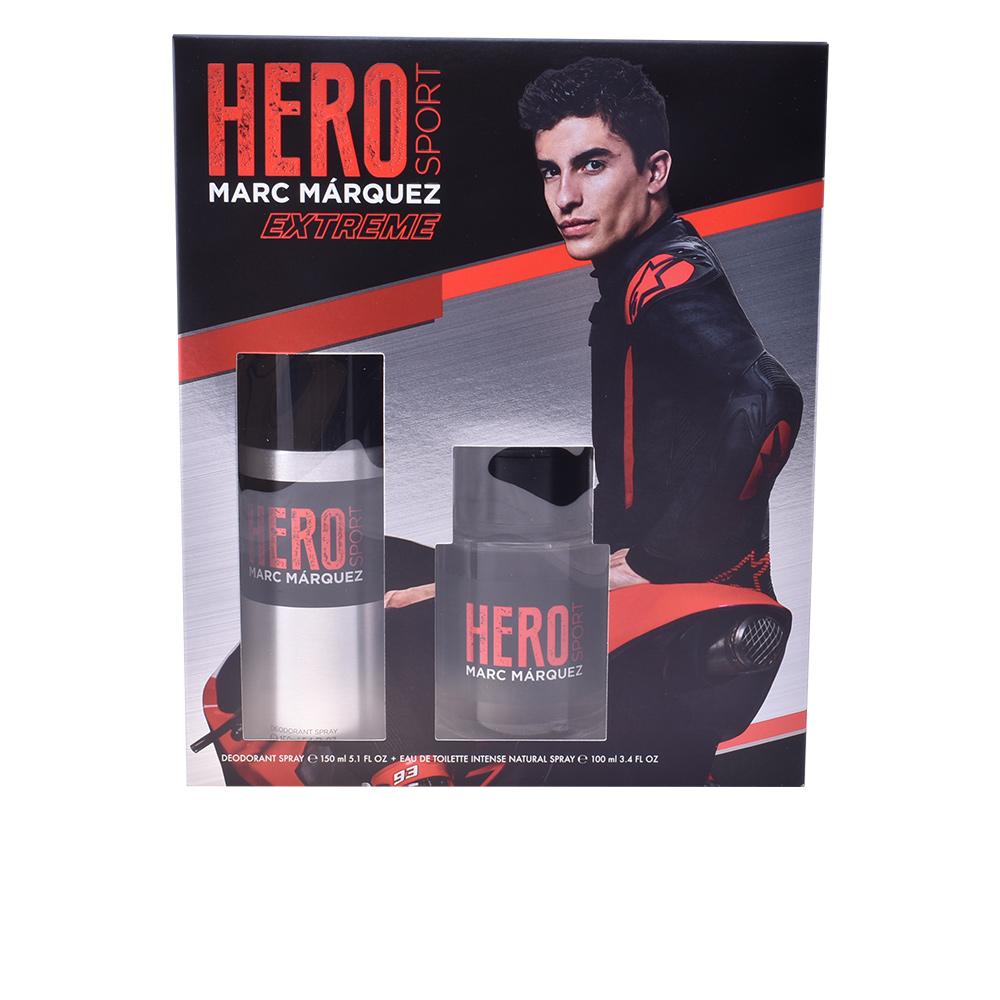 Moški parfumski set Hero Sport Extreme Marc Marquez (2 pcs)