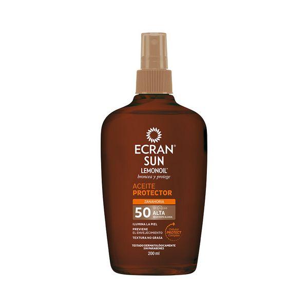Olje za sončenje Ecran SPF 50 (200 ml)