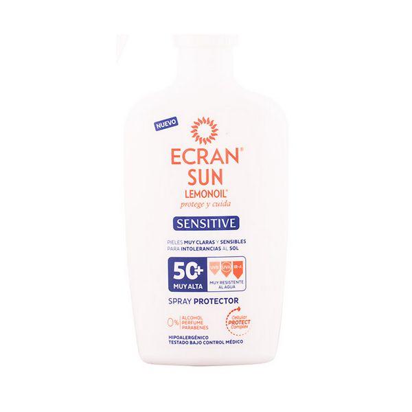 Zaščitni sprej za sonce Sensitive Ecran SPF 50+ (300 ml)