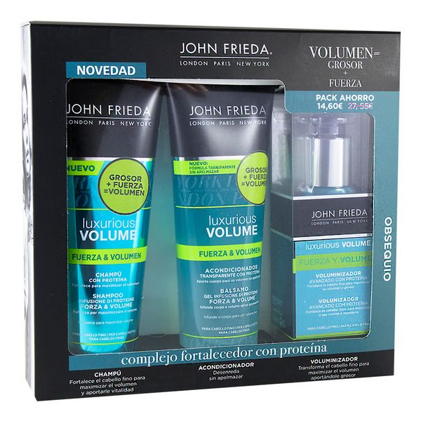 Frizerski set za ženske Luxurious Volume John Frieda (3 pcs)