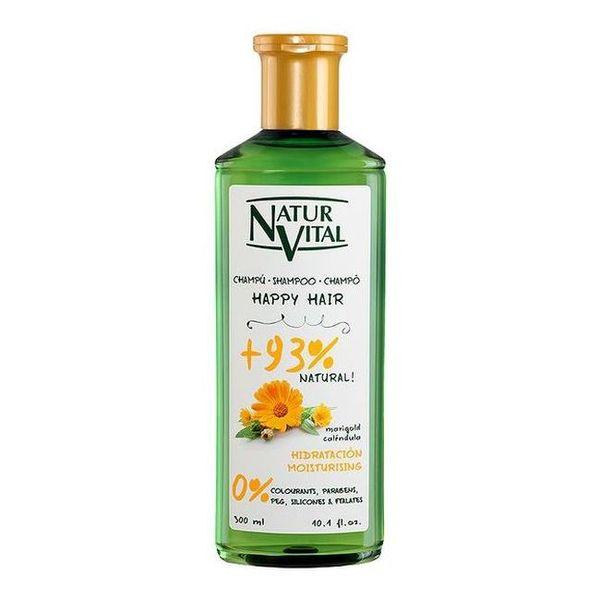 Vlažilni šampon za lase Happy Hair Hidratacion Naturaleza y Vida