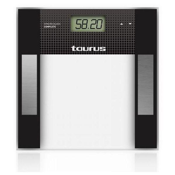 Digitális Fürdőszoba Mérleg Taurus Syncro Glass Complet