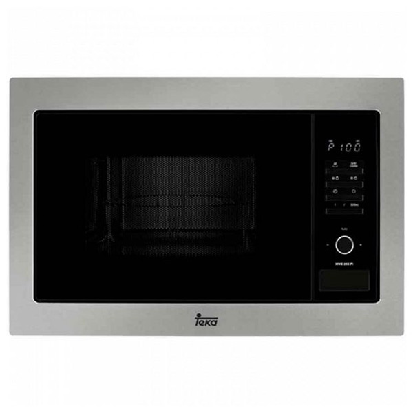 Built-in microwave with grill Teka MWE225 25 L 900W Fekete Rozsdamentes acél