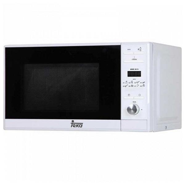 Mikrohullámú Sütő Grillsütővel Teka MWE225G 20 L 700W Fehér