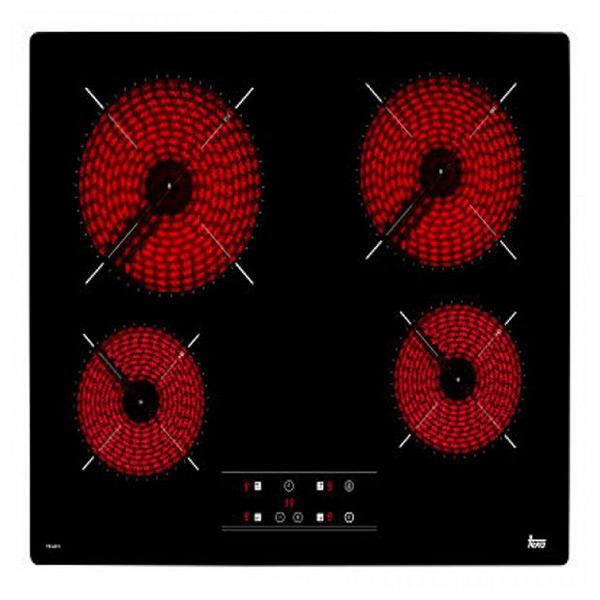 Kerámia Főzőlap Teka 219281 6300W 60 cm Touch Control Fekete
