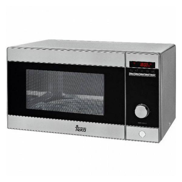 Mikrohullámú Sütő Grillsütővel Teka MWE238G 23 L 1000W Rozsdamentes acél