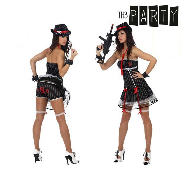 Costume per Adulti Th3 Party Gangster sexy Taglia:M/L Th3 Party