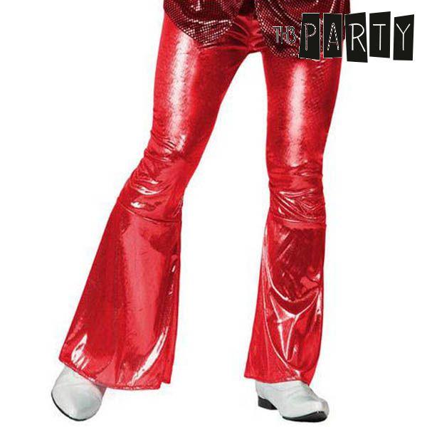 Nadrág Felnőtteknek Th3 Party Disco Fényesség Piros
