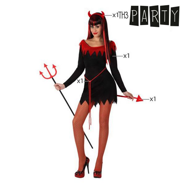 Costume per Adulti Th3 Party Diavolo donna sexy Taglia:XL Th3 Party